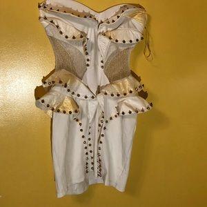 Short spiked dress